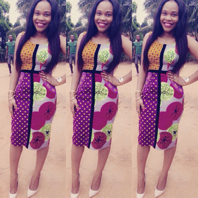 Exceptional Easter Ankara styles ………. Slim, glossy and jaw fry