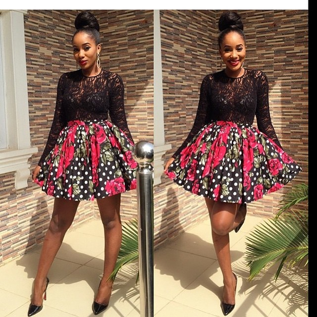 Fall Head Over Heels for These Present-Stopping Ankara Types