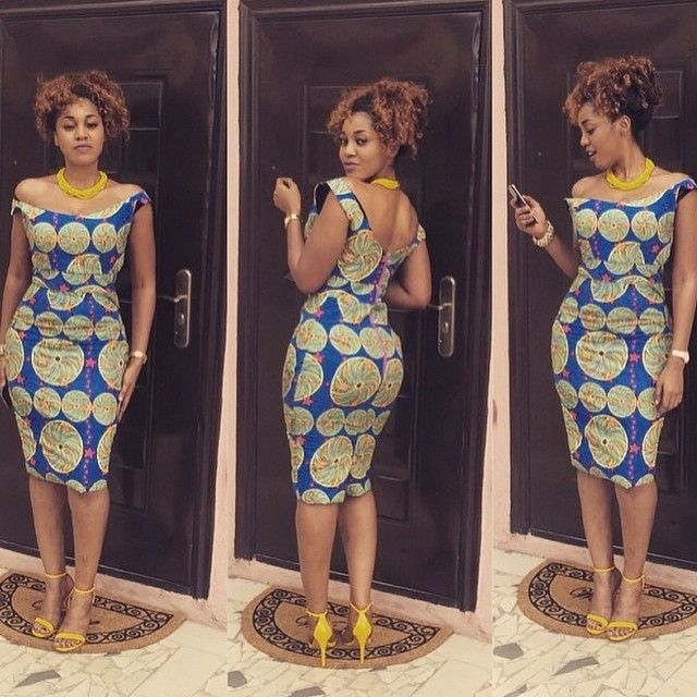 ankara style latest outfit