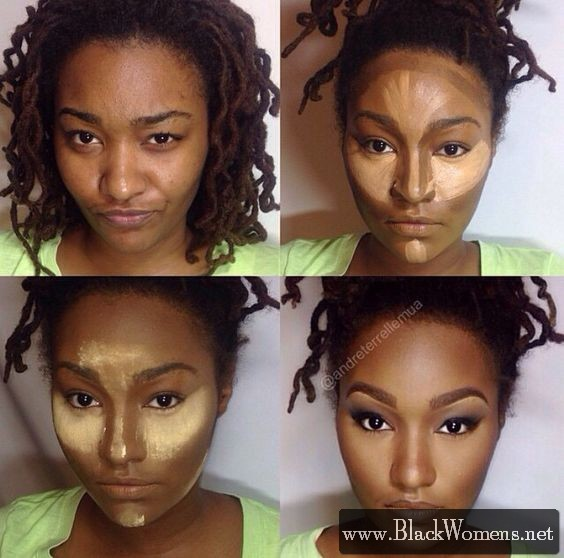 10+ Contour colour palettes for black women