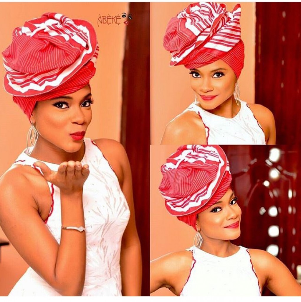 Did you see the new style of Aso-Ebi? How to apply Aso-Ebi?