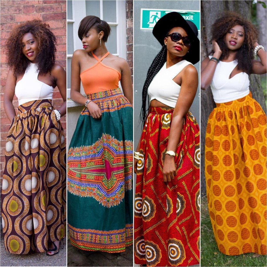 60 Methods to Model Your Ankara Skirts