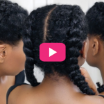 The best kind of corn row braid for amateurs