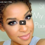Styling your TWA hair in an appropriate way