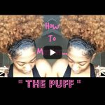 Learn the puff hairstyle the easiest way possible