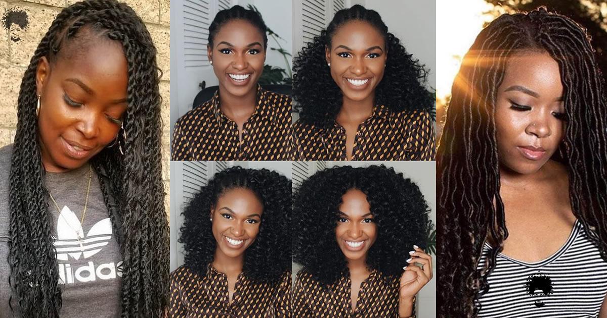 130 Amazing Crochet Hair Braids for American African Women (Updated)
