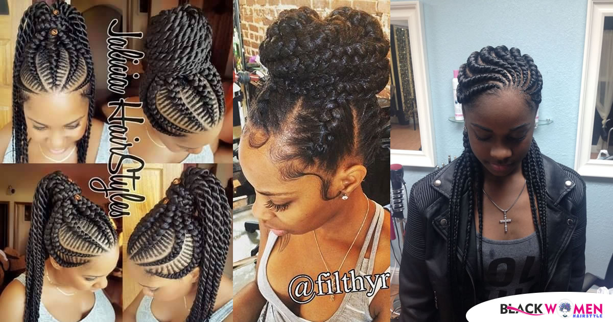 150 Pictures: Super Hot Braided Hairstyles for African American