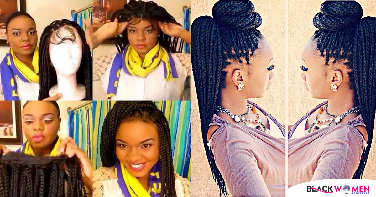 55+Trendy The different box braids artificial hairstyles