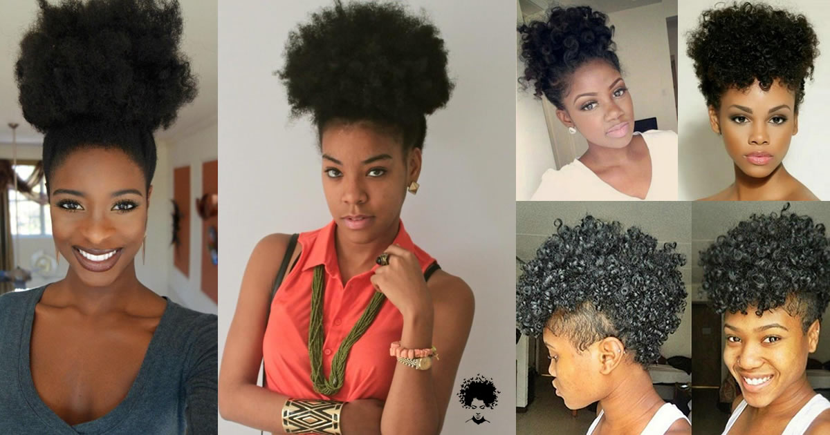 Create A Class For Yourself With The Forward High Puff Hairstyle