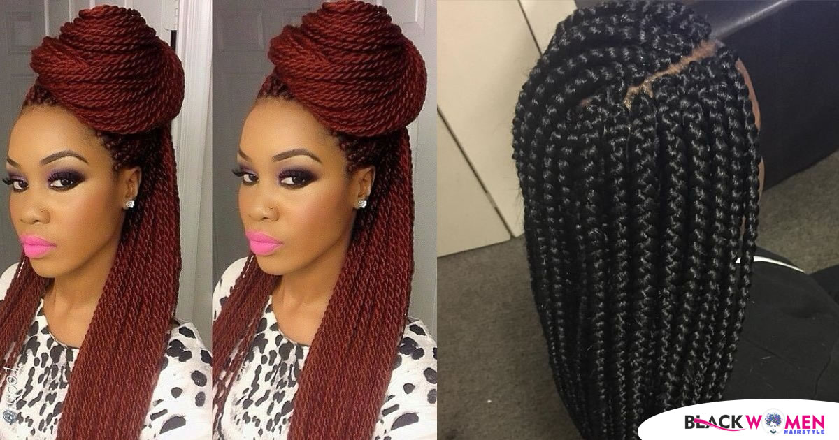 Maintaining box braids and Senegalese twists