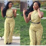 The best combination for fleek hairstyle and Ankara dresses