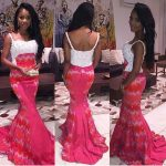 Wearing Ankara type dresses and the different designs