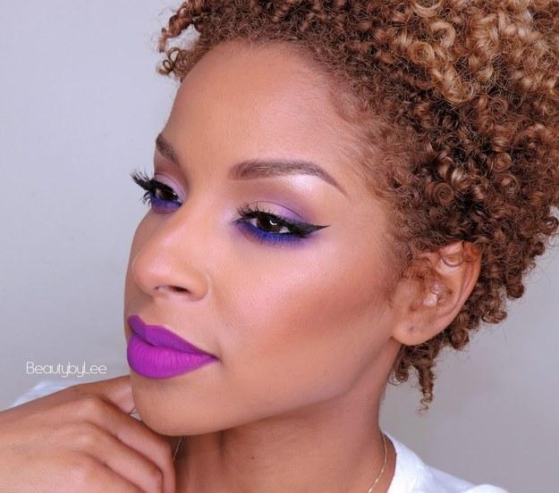 20+ Beauty Bright lip colors that look amazing on dark women