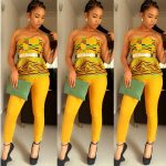 The beauty of one piece Ankara dresses
