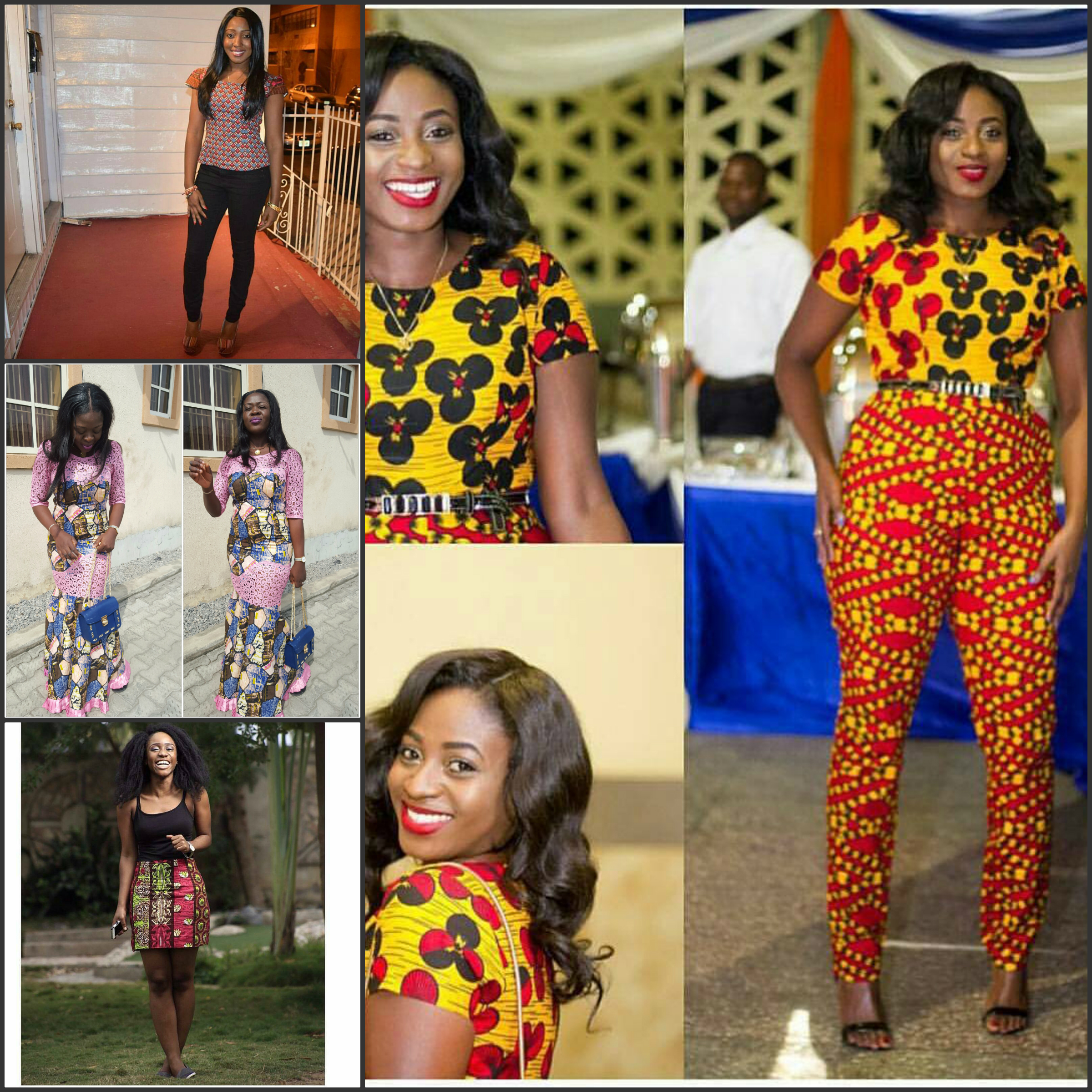 Gorgeous Ankara style for this Christmas