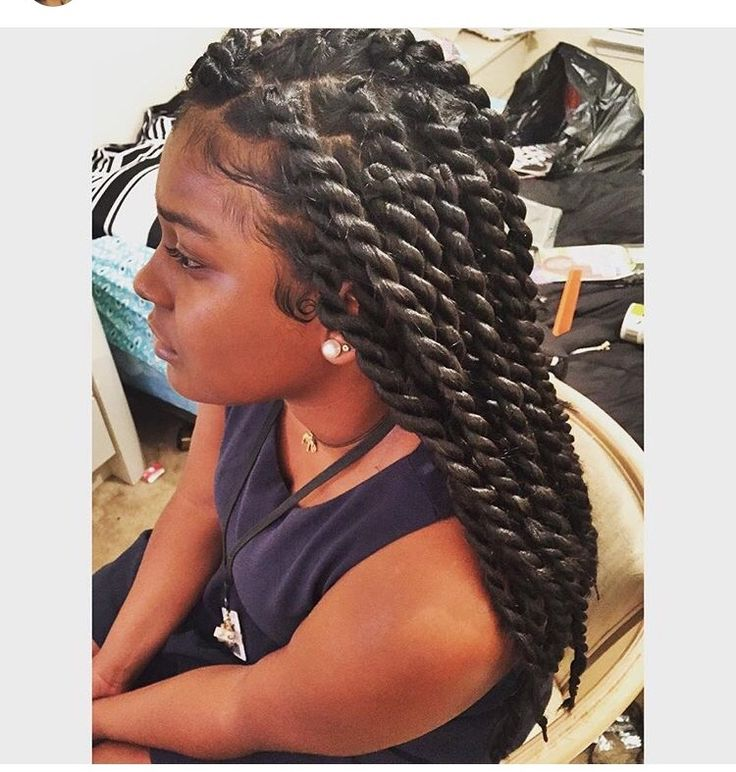 45 Amazing Jumbo Braided Hairstyle To Look Trendy