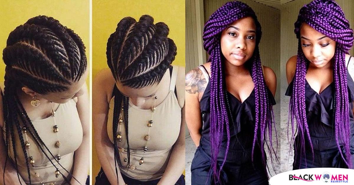 45+ Amazing Jumbo braided hairstyle to look trendy!
