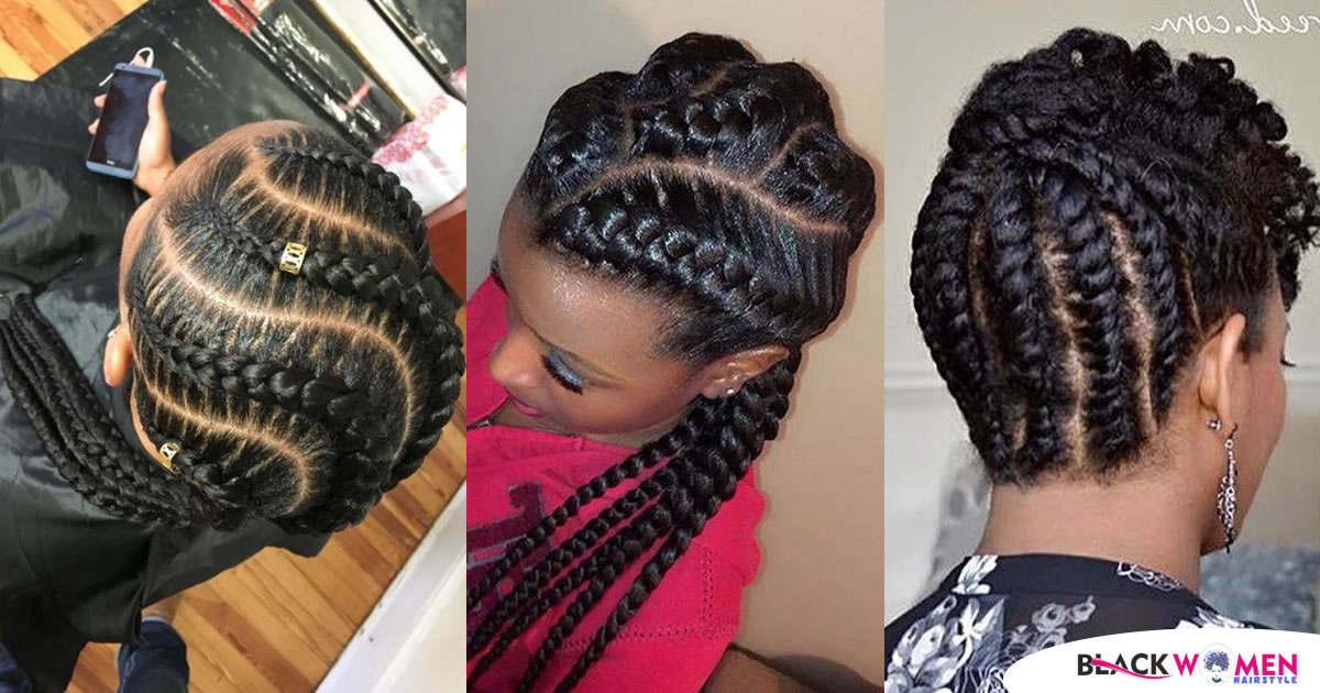 85 Hot Photo: Look Good with the Flat Twist Hairstyles