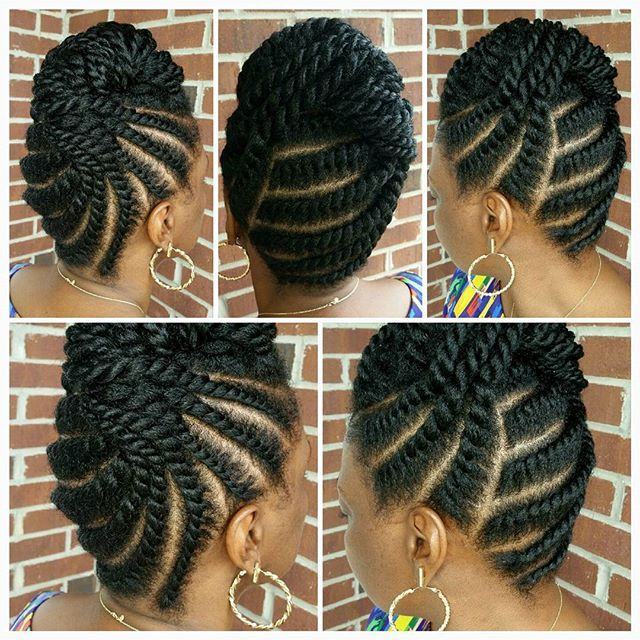 beautiful twist braids