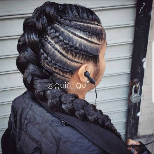 braids by nisaraye feed in braids are the current and cutest way to rock conrows the obvious lines and hidden extensions are what makes it unique