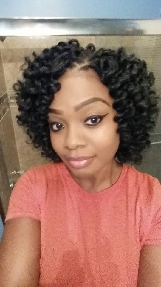 razor cut kanekalon crochet braids