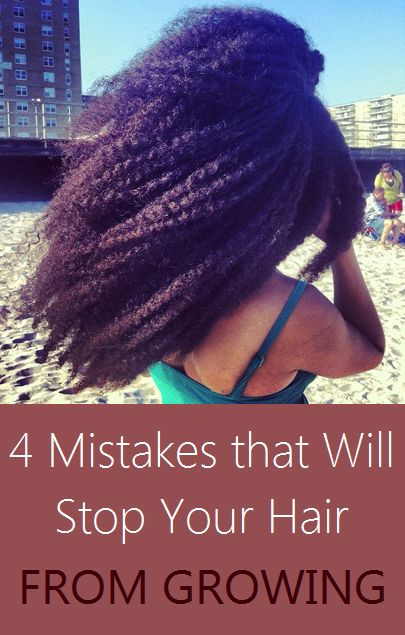 4 mistakes that will stop your hair from growing for women interested in growing long natural hair the greatest challenge can often be patience. ha
