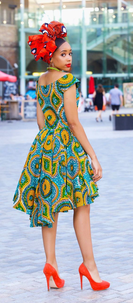 50 Best African Print Dresses where to get them 2