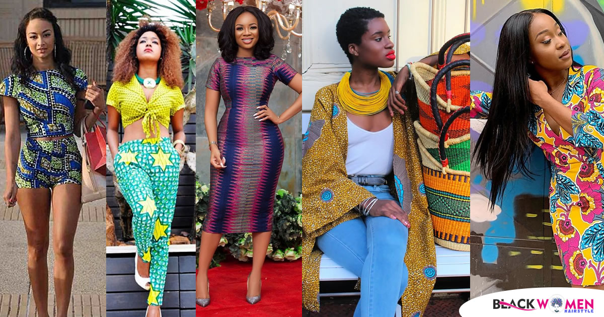It's Friday and those African dresses will you rock