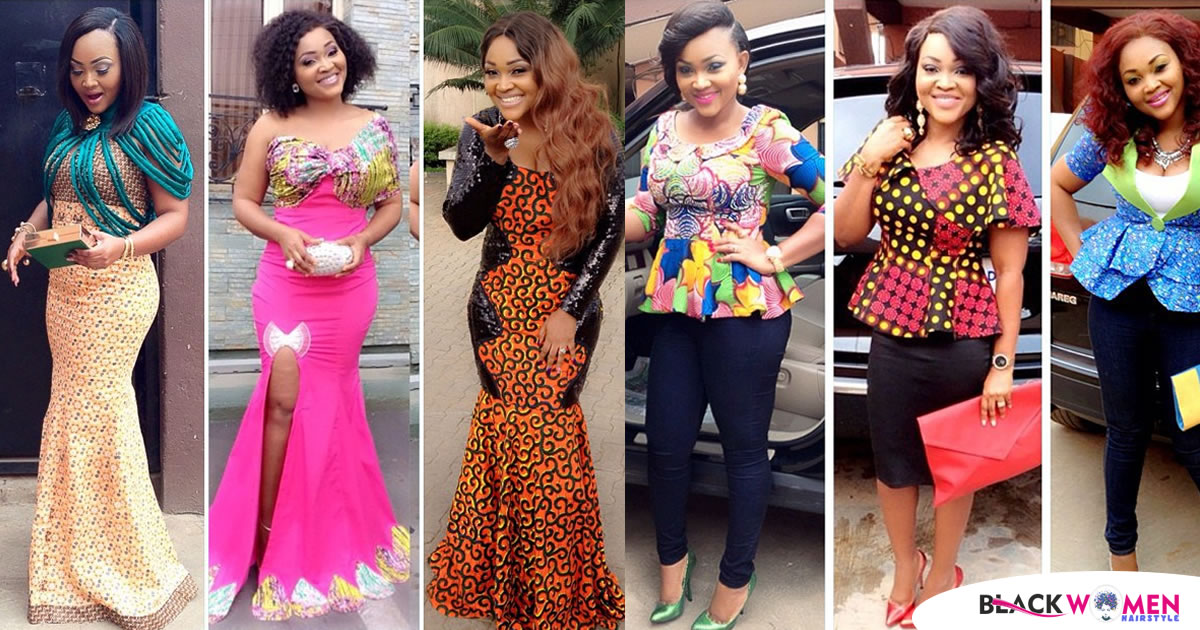 Mercy Aigbe Gentry and the styles that she likes slaying