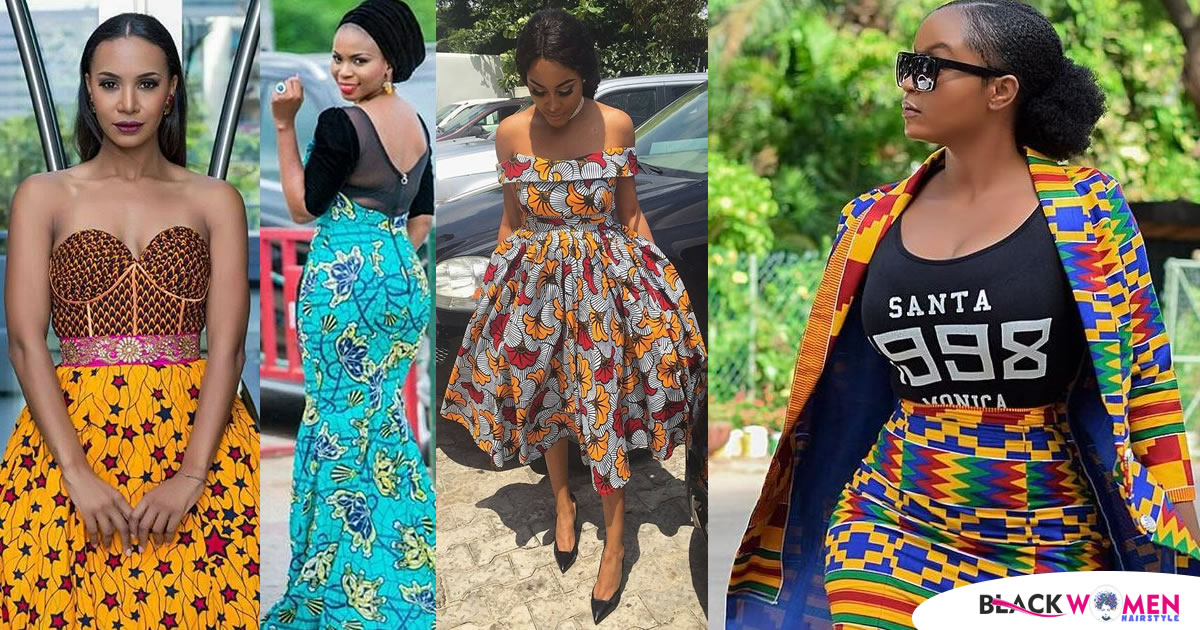 Some Ankara styles that can be real trendsetters