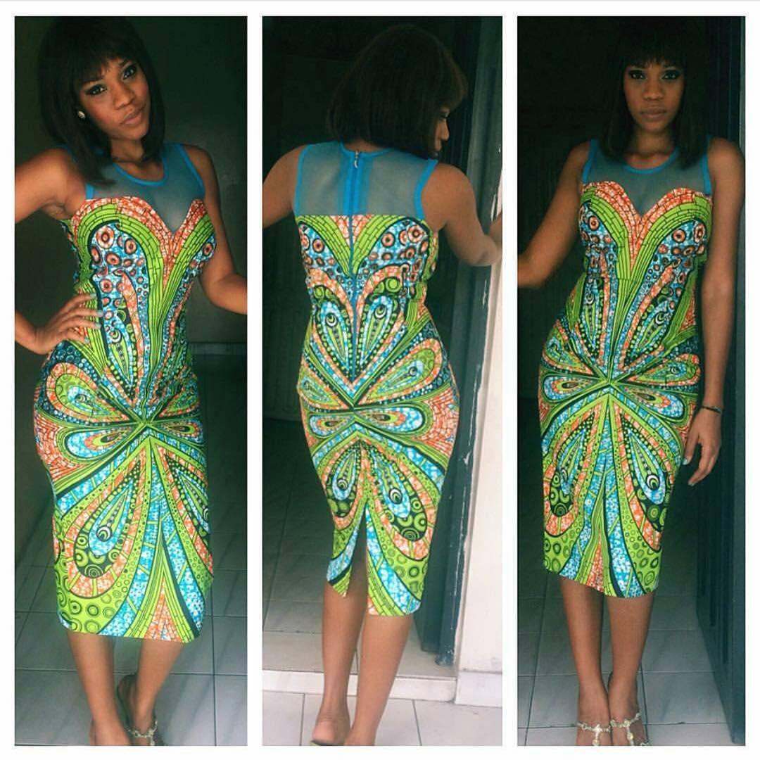 ankara dress by fabricsbynaya