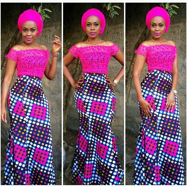 ankara outfit by outfit by