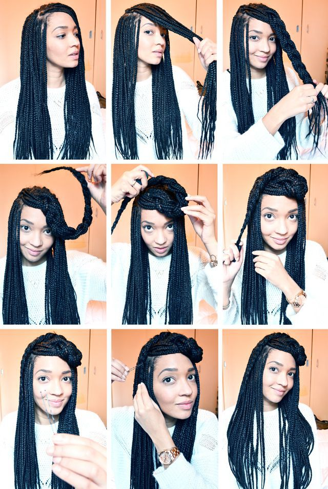 Some stunning box braids that will make heads turn