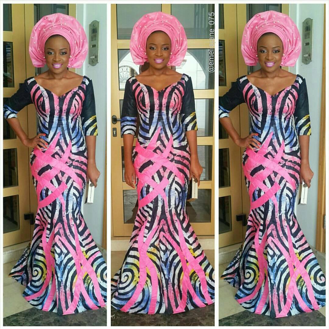 emeliajane 075 beautiful in an adire dress by jbliving