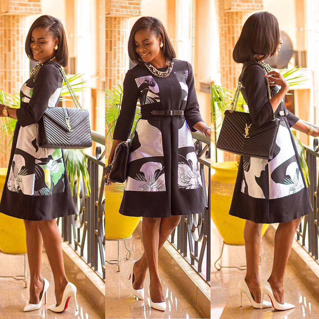 Glam in another word for Ankara fashion styles