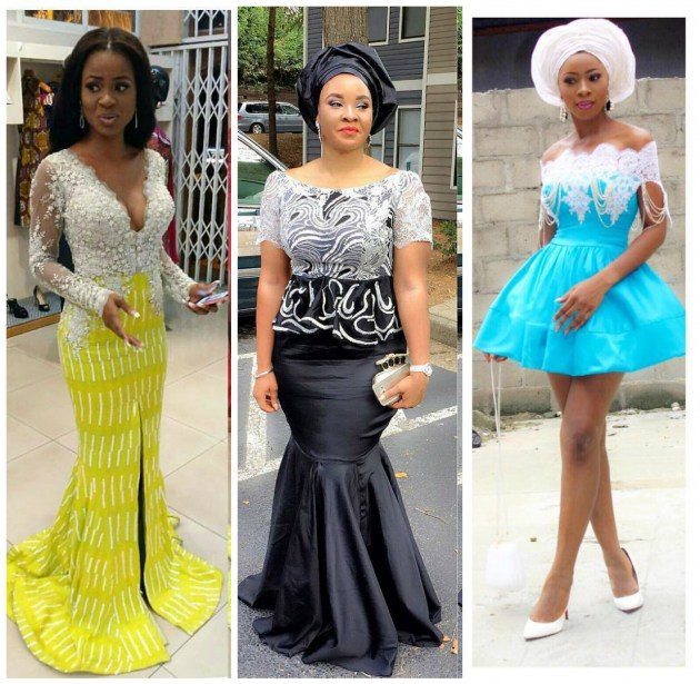 head tuning wedding guest dresses at nigerian parties this weekend
