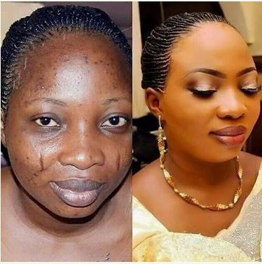 Makeup in Nigeria and their power of transforming