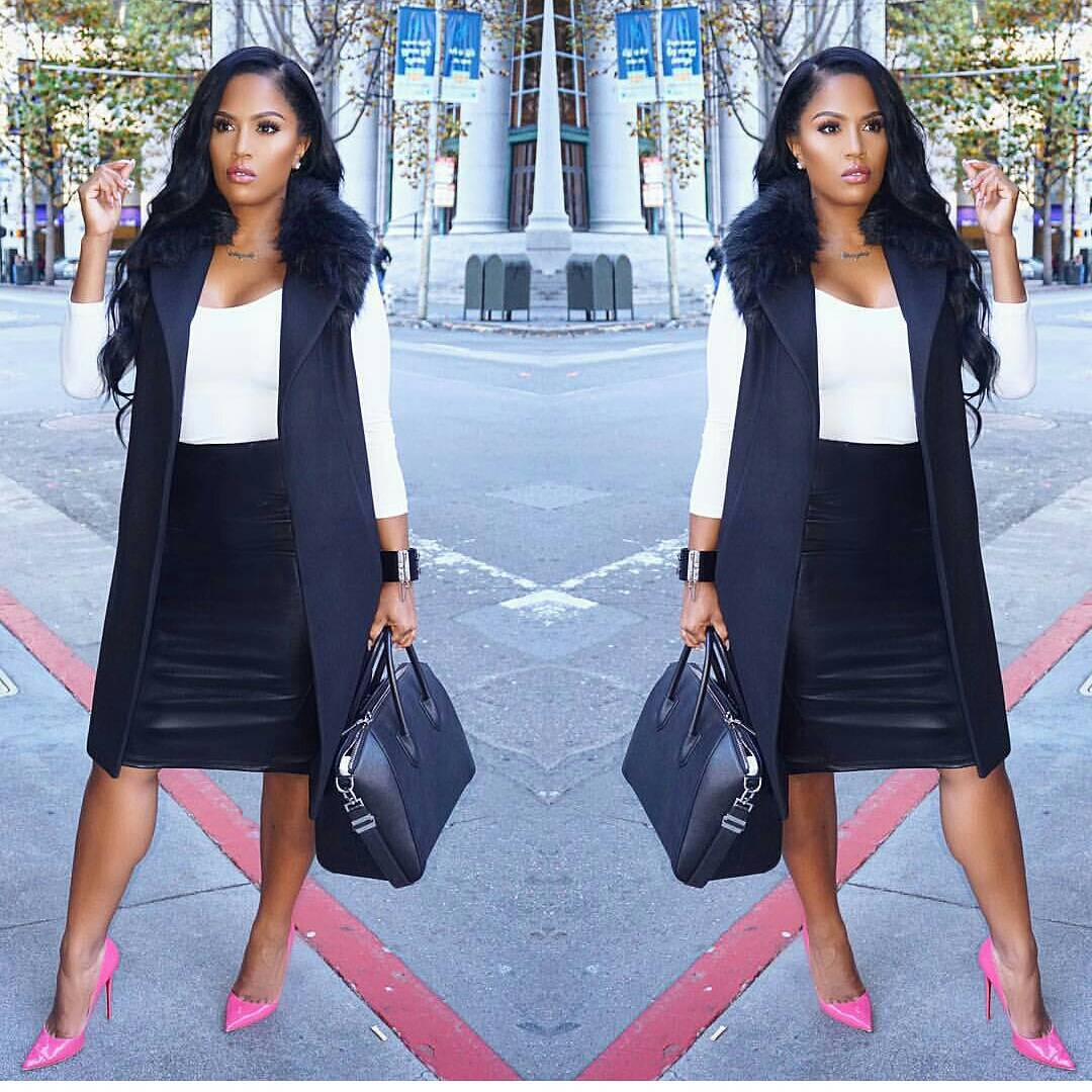 Casual business outfits can be head turners as this post proves