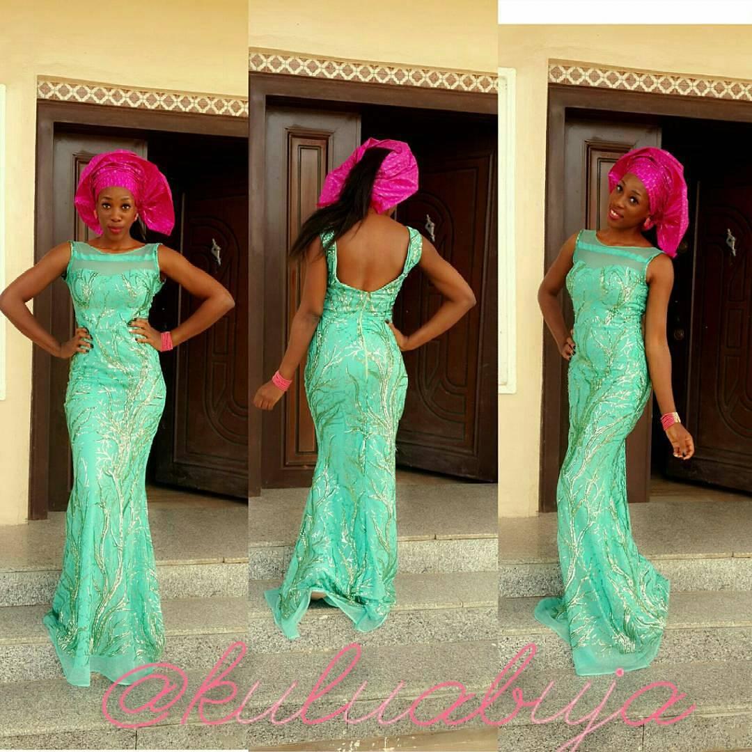 2017 05 aso ebi fashion styles nigeria wedding event fashion - Wedding Ceremony Invitee Attires That Make Heads Turn At Nigerian Occasions