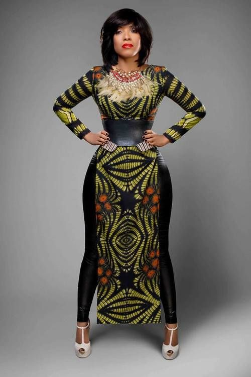 Some modish Ankara styles for making your weekend great