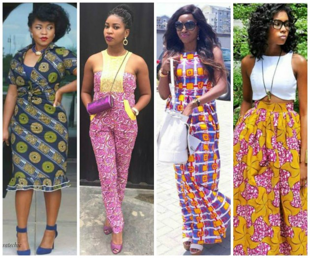 Some breathtaking Ankara style for stepping out in !
