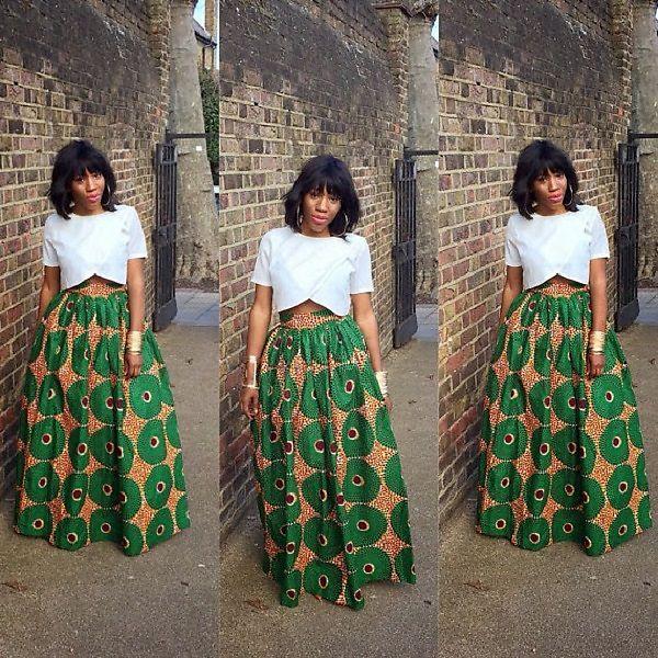the african shop zaba skirt theafricanshop dot etsy dot com