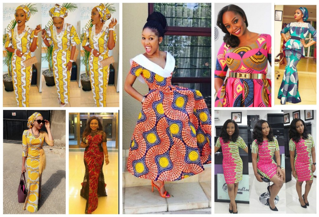 These Ankara type staples are forward of the development