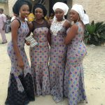 The Ankara styles of the Nigerian origin