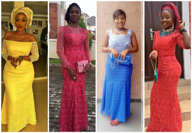 these are how fashionistas select a style to nigerian parties