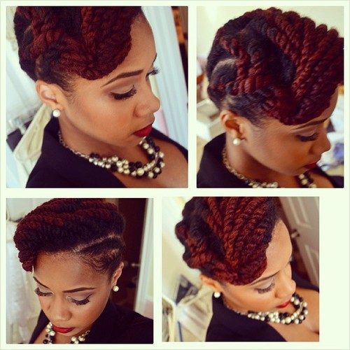 flat twist braids hairstyles 7