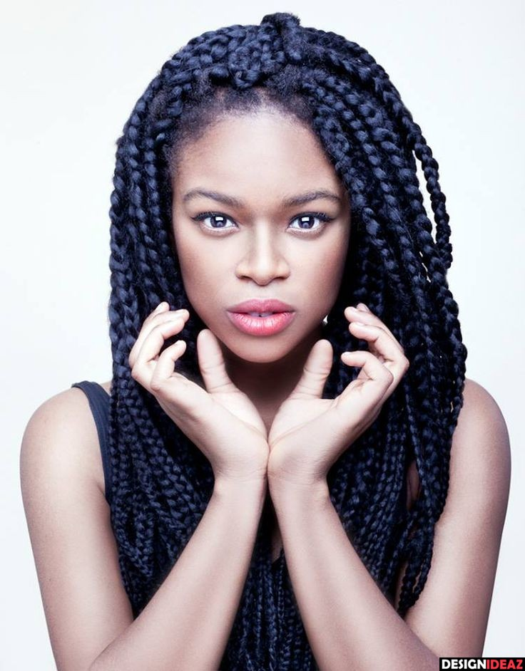 Black Braided Hairstyles - Hairstyle For Black Women