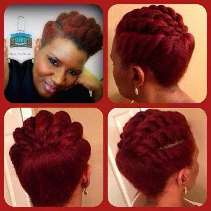 flat twist braids hairstyles 2