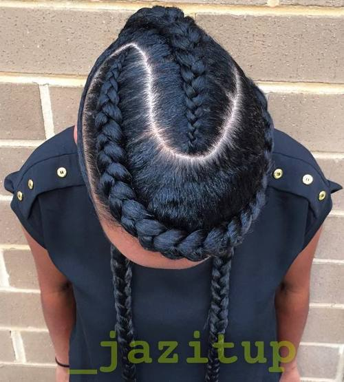 60 Fabulous Styles For Goddess Braids