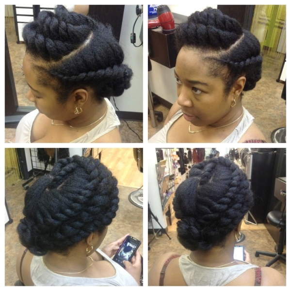 flat twist braids hairstyles 4